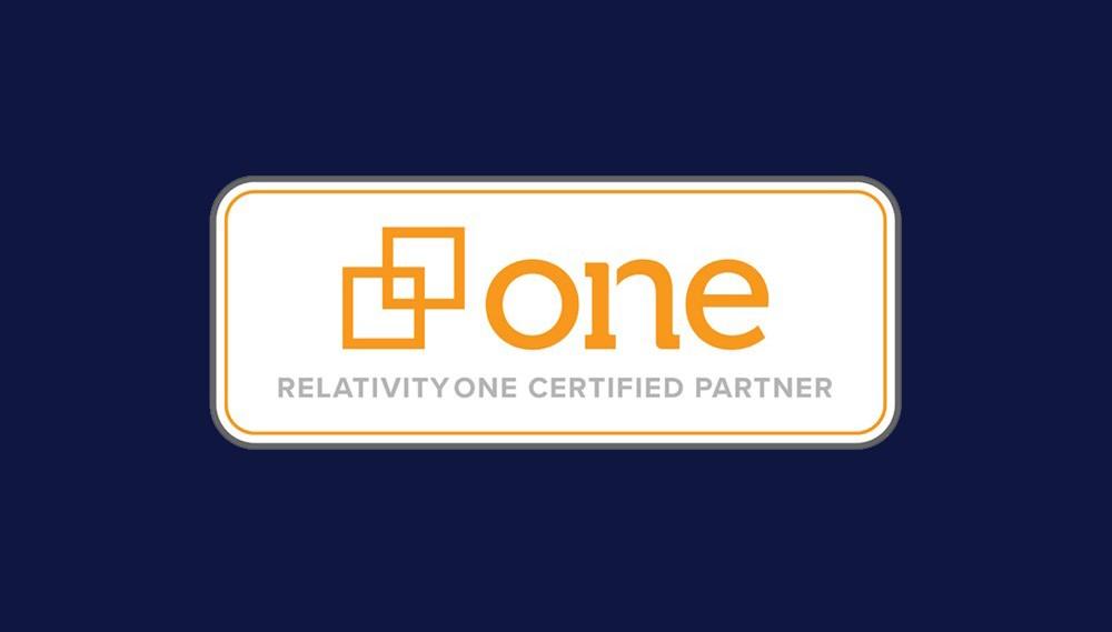 RelativityOne Certified Partner badge